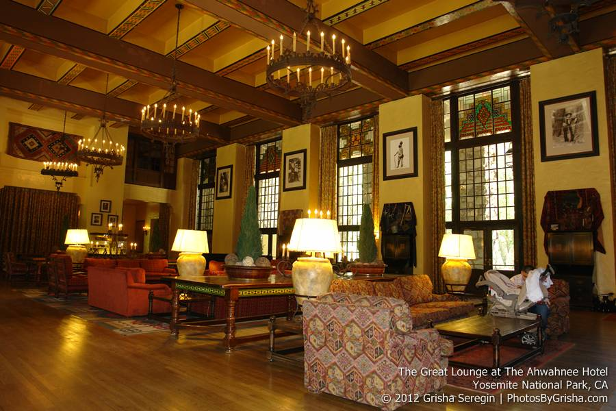 Yosemite valley s ahwahnee hotel gallery photos by grisha for Design hotel yosemite
