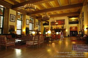 Yosemite Valley's Ahwahnee Hotel